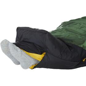 Nordisk Gormsson +4° Curve Sac de couchage XL, artichoke green/mustard yellow/black
